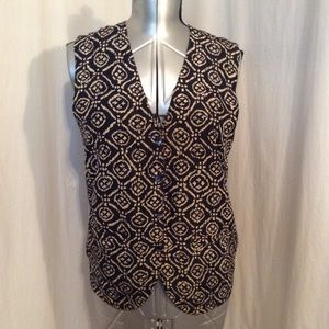 Real Clothes Saks Fifth Avenue Vest